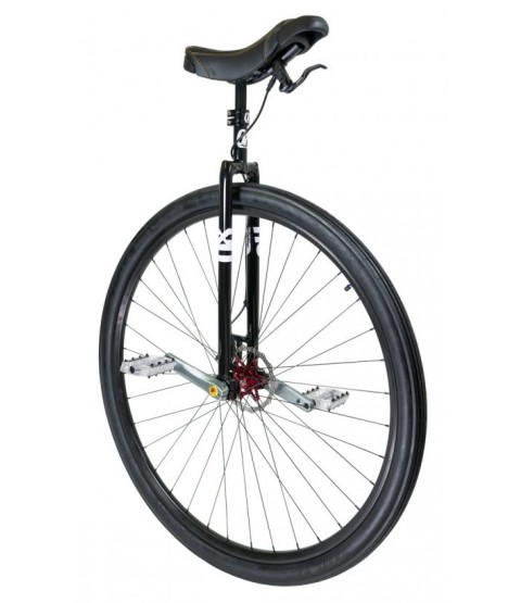 "Qu-Ax QX Profi 36"" Disc Brake Unicycle - Q-AXLE system"