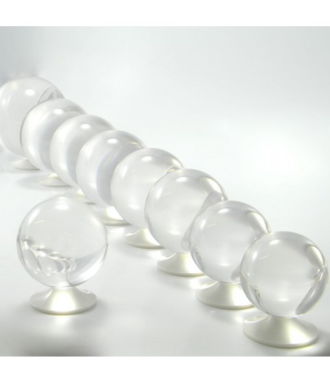 Juggle Dream 70mm Clear Acrylic Contact Juggling Ball