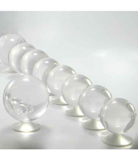 85mm Clear Acrylic Contact Juggling Ball