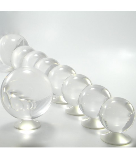 100mm Clear Acrylic Contact Juggling Ball