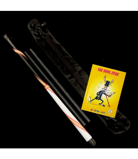 Trickster Devil Stick, Control Sticks, Bag and Instructional Book