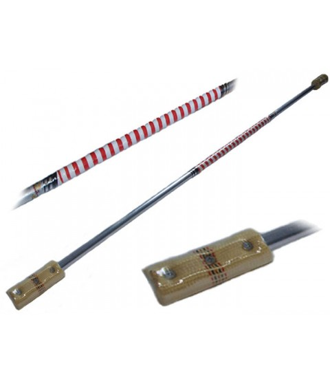Flames N Games Contact Fire Staff 140cm / 100mm wicks