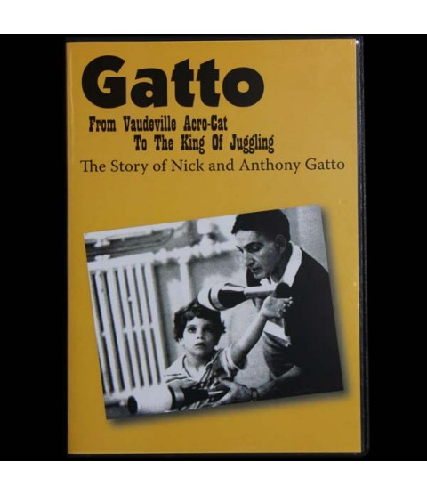 Gatto - From Vaudeville Acro Cat to the King of Juggling