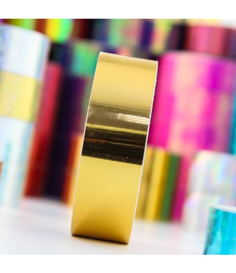 Top Flight 'Gold on Gold' Tape - 24mm / 20m