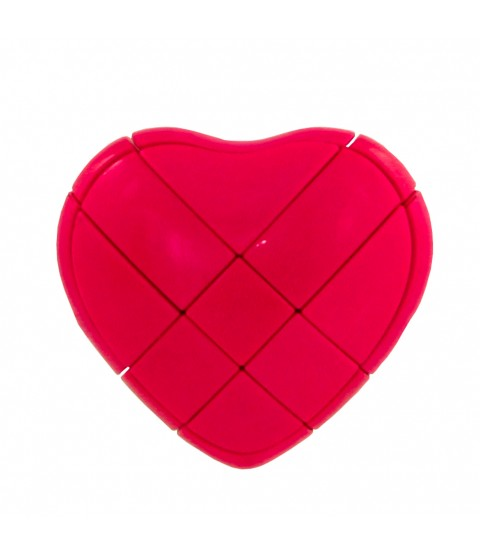 Heart 3 x 3 x 3 Cube Style Puzzle