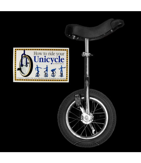 "Indy 16"" Trainer Unicycle and Free 'How To Ride Your Unicycle' Book"