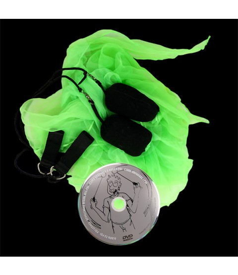 Juggle Dream Scarf Poi & DVD