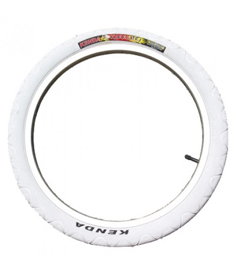 "Kenda 20"" Unicycle Tyre - White"