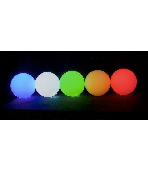 5 x Oddballs LED glow ball