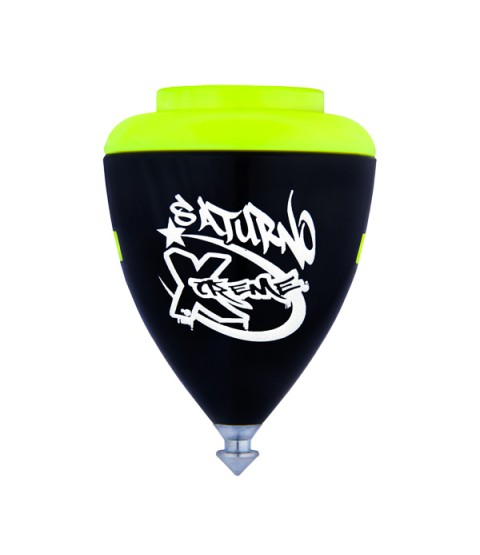Trompos Space Saturno Xtreme Spinning Top - Fixed Tip - Various Colours Available