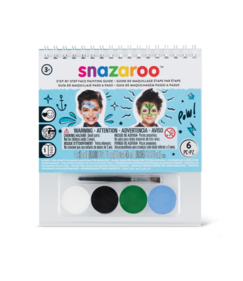 Snazaroo Boys Monster Face Painting Kit
