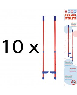 10 x Juggle Dream Steady Adjustable Stilt