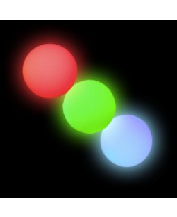 3 x Oddballs LED Glow Balls - Various Colours