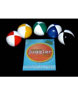 5 x Juggle Dream 110g Thuds + Ultimate Ball Juggling DVD + Instant Juggler - Balls DVD