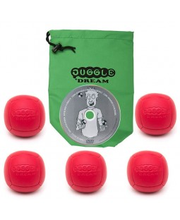5x Juggle Dream Pro Sport 110gram + Instant DVD + bag