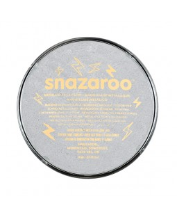 Snazaroo 18ml Face Paint Pots- Various Metallic Colours
