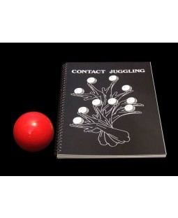 80mm Practice Contact Ball and Contact Juggling Book