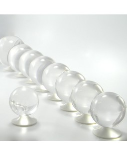 60mm Clear Acrylic Contact Juggling Ball