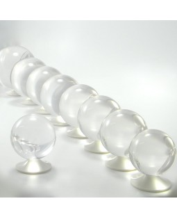 65mm Clear Acrylic Contact Juggling Ball