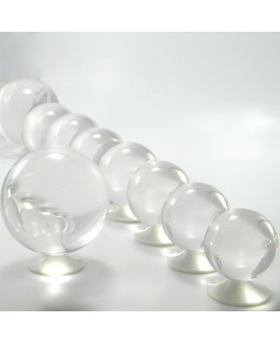 Juggle Dream 100mm Clear Acrylic Contact Juggling Ball