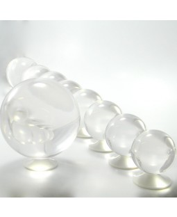 Juggle Dream 120mm Clear Acrylic Contact Juggling Ball