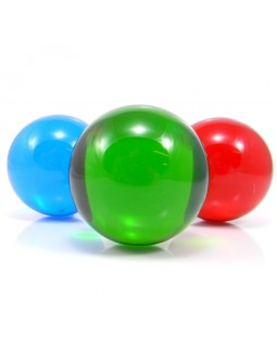 Coloured Acrylic Contact Ball - 75mm