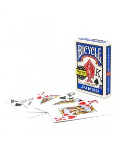 Bicycle Jumbo Face Playing Card Deck