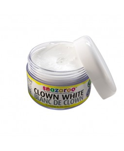 Snazaroo 50ml Clown White