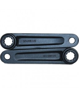 Freestyle Aluminium Splined 140mm Cranks