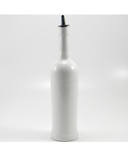 Flairco White Bacardi Bottle
