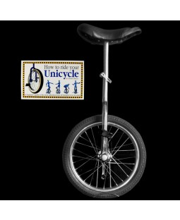 "Indy 20"" Trainer Unicycle and Free 'How To Ride Your Unicycle' Book"