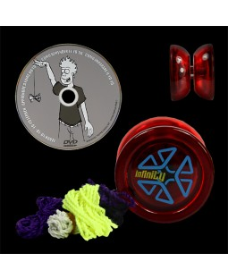 Infinity Blaze Yo-yo, DVD & 5 primo strings Deal