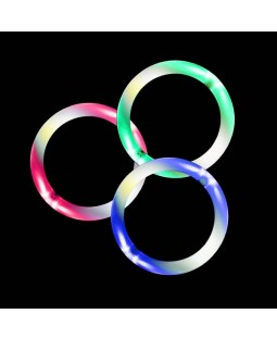 3x Juggle-Light LED Rings