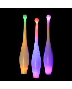 Juggle-Light LED One Piece Juggling Club - 'Multi-Light'