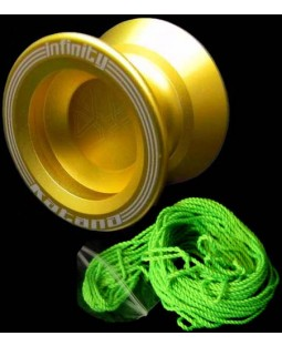 Infinity Katana Metal Yoyo, 5x Primo Yoyo strings, and Kid Yoyo DVD