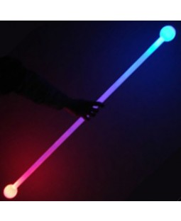 Juggle-Light Thick Glow Staff 'Multi light' (No Ball Ends)