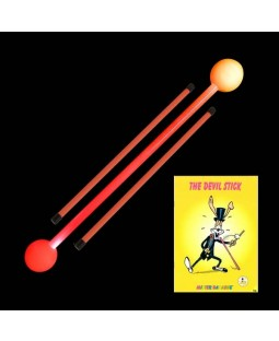 Juggle-Light LED Multi-Light DevilStick + Devilstick booklet + Juggle Dream Neo Handstick