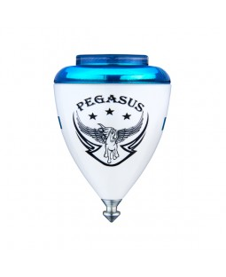 Trompos Space Pegasus Spinning Top - Fixed Tip - Various Colours Available