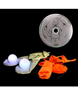 Oddballs LED Sock Poi, Juggle Dream Sock Poi & DVD.
