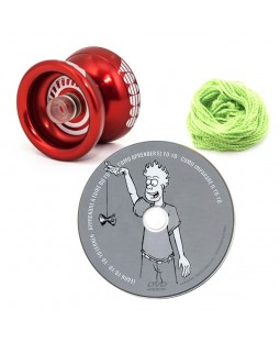 Infinity Voodoo Yoyo + Learn how to Yoyo DVD + 10x YoYo String